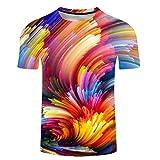 SSBZYES Camiseta para Hombre Camiseta De Verano De Talla Grande para Hombre Camiseta De Cuello Redondo para...