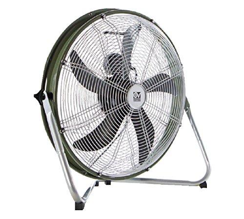 VORTICE 60601, Ventilatore da pavimento, Grigio/Verde, 650 x 610 x 280 mm