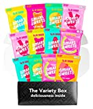 Low Sugar Candy Box featuring SmartSweets - Low Calorie, No Sugar Alcohols, No Artificial Sweeteners, Gluten-Free (12 Count)