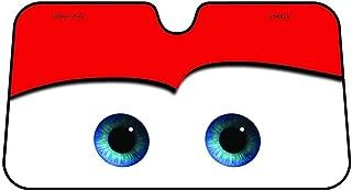 Parasol Parabrisas Delantero de Coche con Diseño Ojos Dibujos Animados, Disney Car Blue Parasol Protector Solar para la Parabrisa Delantera del Coche Cubierta Protectora contra Rayos Ultravioletas