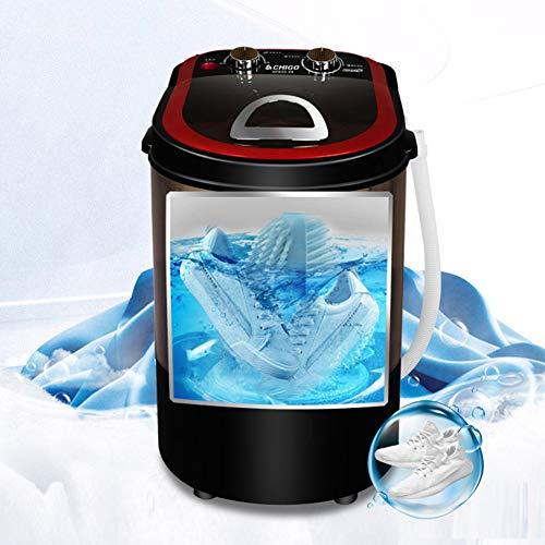 BCXGS Lavadora de Zapatos portátil, Lavadora Mini Semiautomática para Lavar Las Zapatillas de Gimnasia Posee eliminación de olores