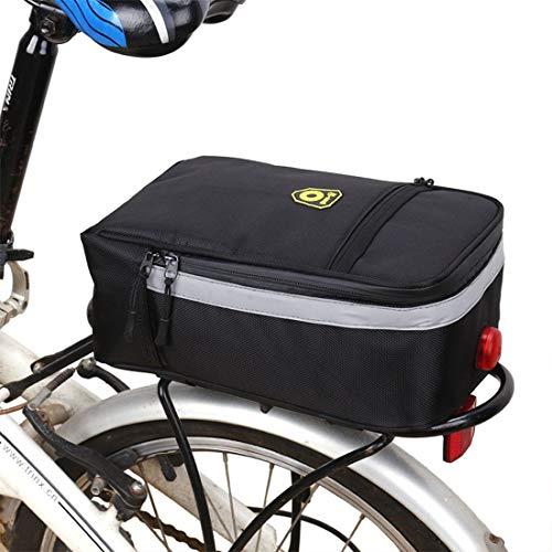 Moto tronco bolsa, Montar de la bici bolsa a prueba de lluvia...