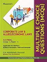 Commercisl's Corporate Law & Allied/Economic Laws MCQs CA Final Group-1, Paper-4