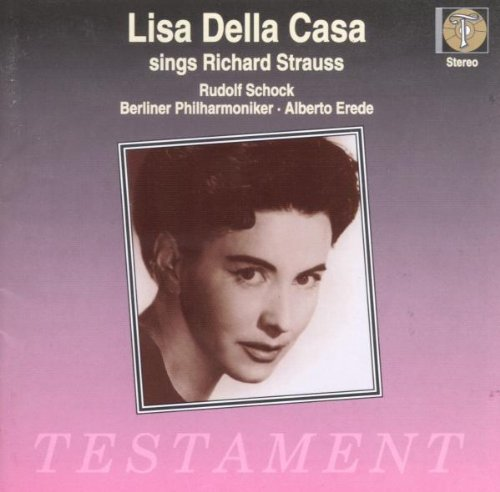 Lisa della Casa singt Strauss
