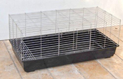 XXL Gabbia per Cavie, Conigli e Roditori 1,20 M