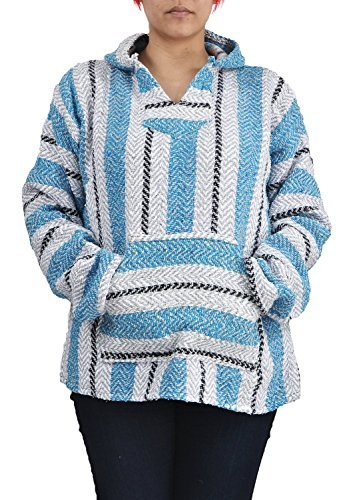 Baja Joe Striped Woven Eco-Friendly Jacket Coat...