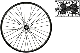 Wheel Master Front Bicycle Wheel 24 x 2.125 36H, Alloy, Bolt On, Black