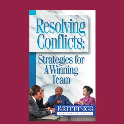 Resolving Conflicts audiobook cover art