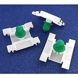 WINOMO 20 pcs Garniture de porte Bumpstrip Clips supplmentaire de voiture l'intrieur Dcor accessoire pour Golf MK3