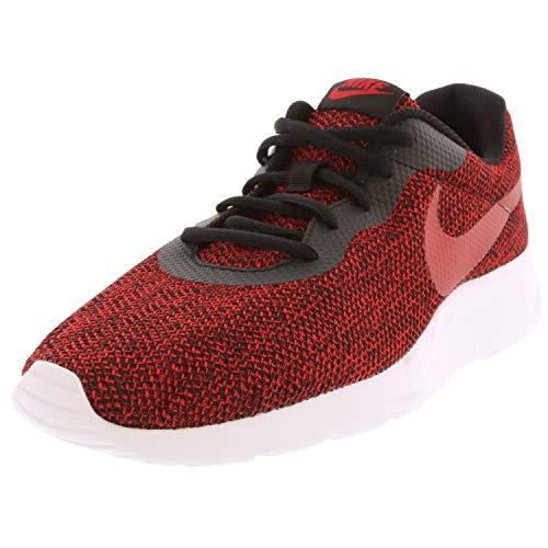 Nike Men's Tanjun Se Ankle-High Running Shoe - 11.5M - Black/Gym Red/Gym Red/White