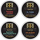 Roastmaster Reserve Dark Roast Coffee Variety Pack – 40ct. Limited-Batch Rare Coffee, Recyclable Single Serve Coffee Pods, k-cup compatible including 2.0