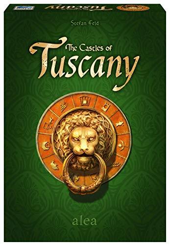 Ravensburger 26916 - The Castles of Tuscany, Strategiespiel für 2-4 Spieler ab 10 Jahren, alea Spiele, Spielereihe