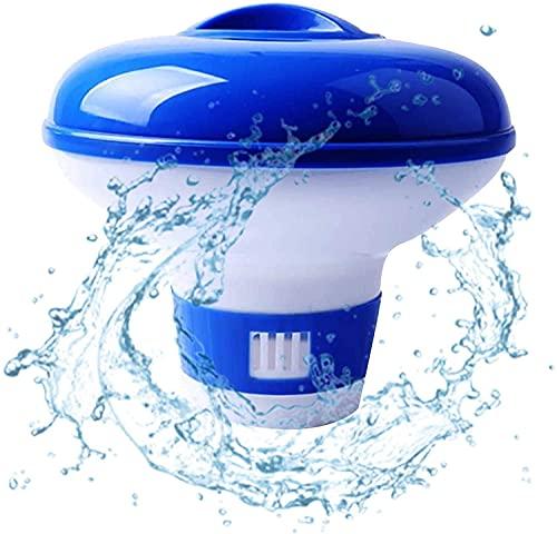 Sunshine smile Zwembad doseerdrijver, chloordrijver, chemicaliëndispenser, chloordoseerder voor zwembad, automatisch, voor schoon water