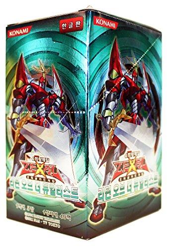 Yu-Gi-Oh! Konami Yugioh Cartas ZEXAL Booster Pack Caja TCG OCG 200 Cartas El Regreso del Duelista Corea Ver