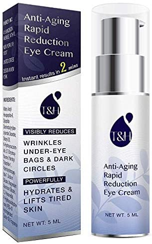 Anti Aging Rapid Reduction Eye Cream Visibly and Instantly Reduces Wrinkles Under Eye Bags Dark product image
