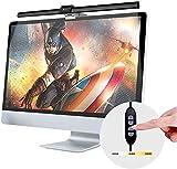 LED e-Reading Schreibtischlampen, USB Angetrieben Computer Monitor Lampe, Einstellbare Helligkeit...