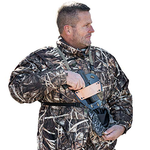Slicker Pistol Universal Pistol Holster with Chest and Leg mounting Options That Will Conceal and Protect (Vanishing Shadow)