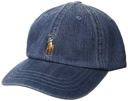 Polo Ralph Lauren Mens Twill Signature Ball Cap