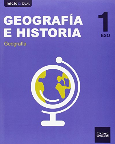 Inicia Dual Geografía E Historia. Libro Del Alumno Castilla La Mancha - 1º ESO - 9788467398779