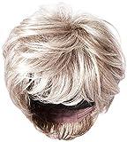 Raquel Welch Go for It Boy Cut Short Hair Wig with Longer Layers, R119g Gradient Smoke by Hairuwear