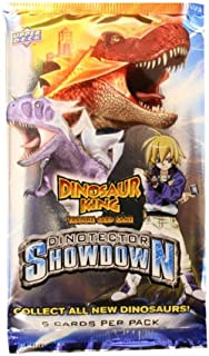 Upper Deck Dinosaur King Trading Card Game Series 5 Dinotector Showdown Booster Pack