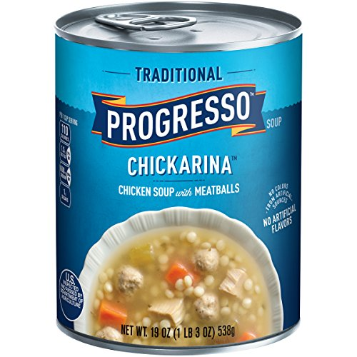 Progresso Soup, Traditional, Chickarina Soup, 19 oz Can