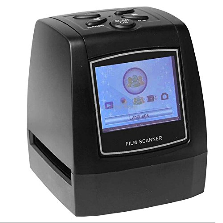 Del-Digital 35mm Negative Slide Film Scanner Photo Digitalizer Analog to Digital JPEG Picture File Converter Films Photo Scanner Copier 2.4'' LCD, US Power Plug