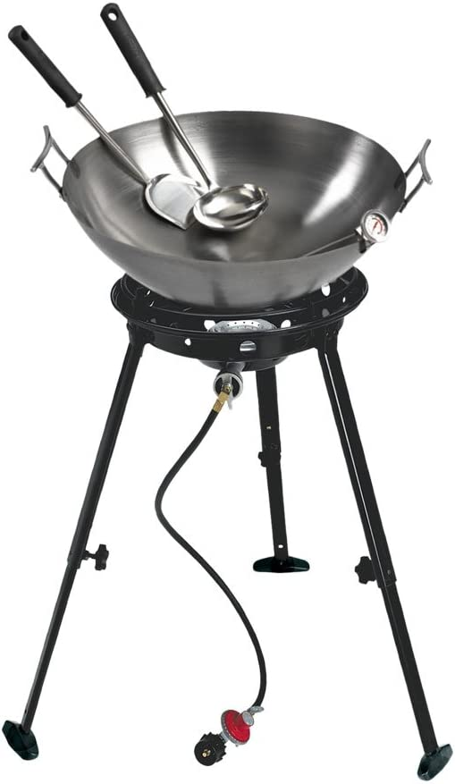 Eastman Outdoors New Shipping Free 37212 Outdoor Gourmet Wok Steel 22 Super Special SALE held Carbon Inch