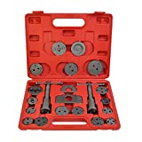 Goplus 21pc Universal Caliper Tool Kit Case Wind Back Disc Brake Pad Piston...