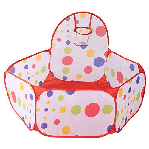 Fácil de almacenar Piscina de bolas para niños Tienda de juegos para niños que ahorra espacio Linda para interiores y exteriores