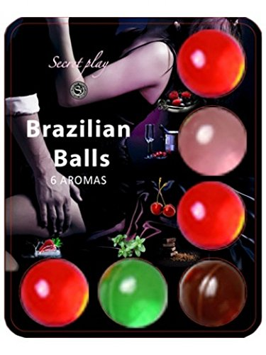 Secret Play S354, Bolas Brasileñas con aroma, Pack de 6