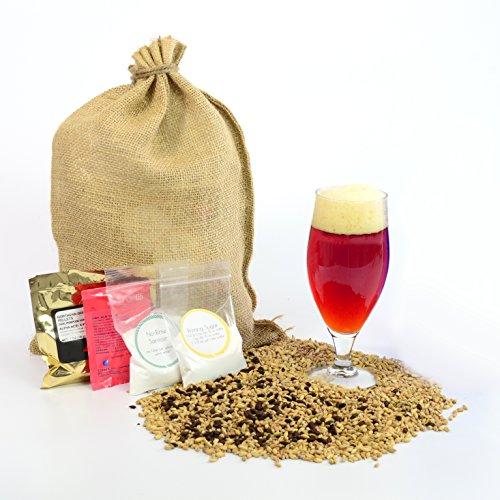 1 Gallon Home Brewing Homebrew Recipe Kit, Copperhead Irish Red Ale, 6.2%
