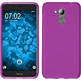 PhoneNatic Hülle kompatibel mit Huawei Honor 6C Pro - pink Silikon Hülle matt Cover