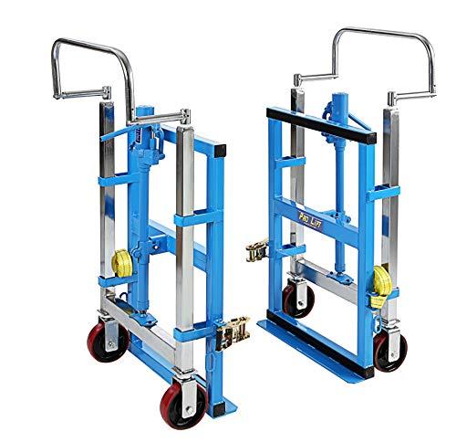 Pro-Lift-Werkzeuge Möbelhubroller Transporthilfe Möbel 1800kg hydraulisch Hub bis 300mm Transportgeräte Sackkarre für Möbel