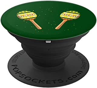 Music Teacher Maraca Player Rumba Shaker Instrument Musician PopSockets Grip and Stand for Phones and Tablets