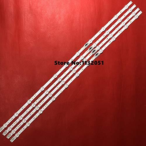 DIPU WULIAN Lamp strip 11leds For Sa mSun g 43 inch TV UA43J5088ACXXZ S-5J55-43-FL-R4/L7 LM41-00117X/00117W GJ043BGA-B1 4sets