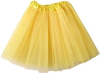 a63a4e751 Amazon.es: falda tutu - Amarillo