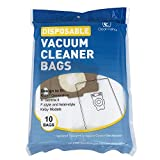 CF Clean Fairy 10 Pack Style F Vacuum Cleaner Bags Compatible with Avalir, Sentria I, II, Ultimate Diamond G3 G4 G5 G6 Gsix G10, G10D, G10E, G10Se Replacement for 204808 204811