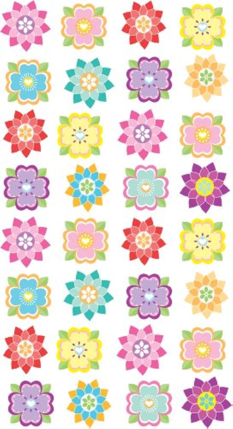 EK Success Brands Sticko Stickers, Mini Flower Repeats