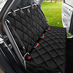 Strong & Durable,Heavy-Duty and Nonslip Rear Back Seat Cover