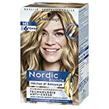 Schwarzkopf Nordic Blonde M1 Mechas Radiantes (Pack de 3) – Coloración permanente – Aclara hasta 6 tonos - Con aceite activador&OmegaPLEX