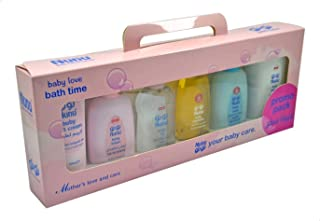 Nunu Gift Set Baby Care Products, 100ml - Set of 5