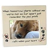 BANBERRY DESIGNS Pet Memorial Photo Frame -...