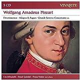 Mozart: Divertimentos; Adagios & Fug Ues; Grande Sestetto Concertante Etc (Vivarte Box 8)