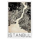 artboxONE Poster 30x20 cm Istanbul Städte/Istanbul Retro