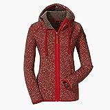 Schöffel Fleece Hoody Aberdeen2, komfortable und extra weiche Fleecejacke, warme und atmungsaktive Kapuzenjacke für Damen Damen, samba, 34