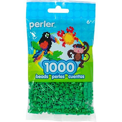 Perler Beads Fuse Beads for Crafts, 1000pcs, Shamrock Green