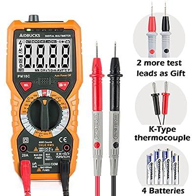 Multimeter Janisa PM18/18C AC DC Digital Multimeter Voltage Current Tester Non-contact Voltage Test