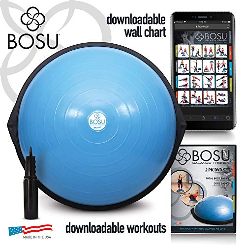 Bosu Balance Trainer, 65cm - Blue Competition Equipment Features Fitness Gym Sports