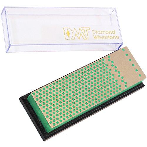DMT Unisexe 6-in. mécanicien Diamant Pierre à aiguiser dans boîte en Plastique Extra Fine Couteau Taille-Crayon, Vert